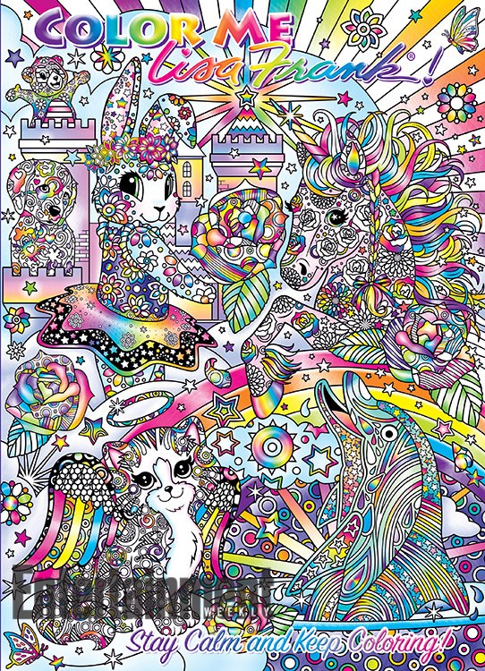Lisa Frank coloring book 2