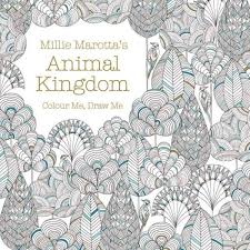 A Millie Marotta Adult Coloring Book