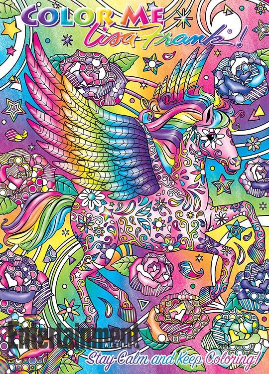 Lisa Frank coloring books 3